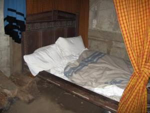 A Pilgrim Bed